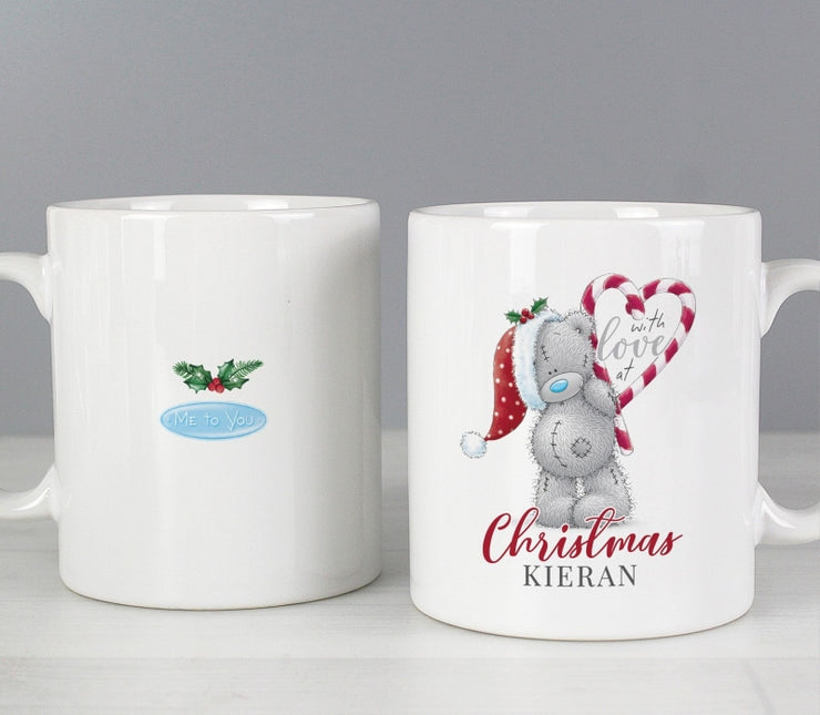 Personalised Me To You 'With Love At Christmas' Couples Mug Set-Mugs-Give Personalised Gifts