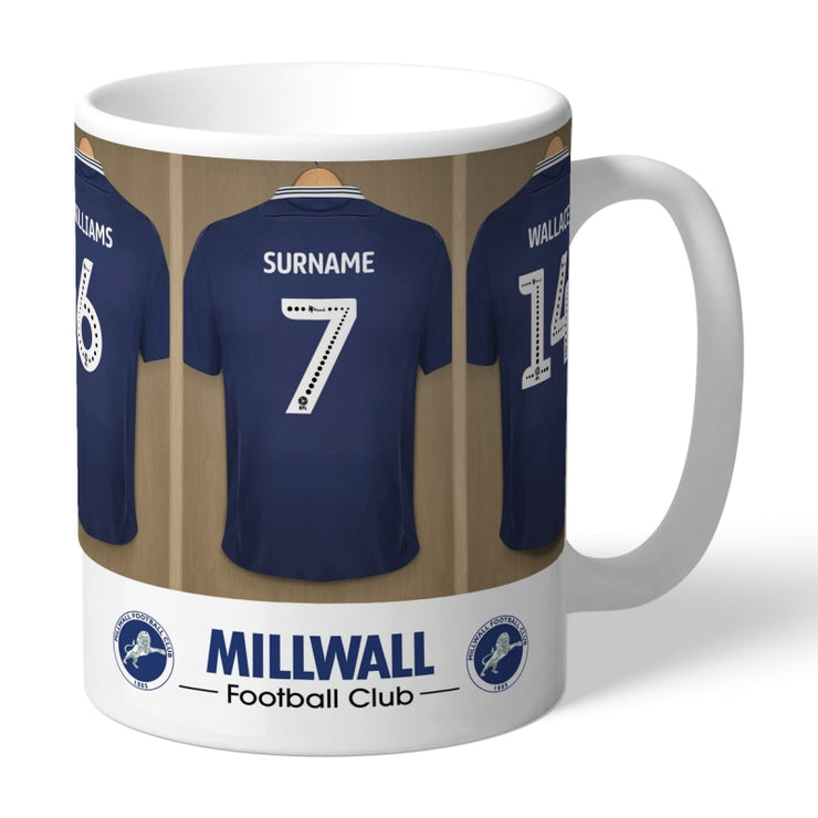 Personalised Millwall FC Dressing Room Mug-Mugs-Give Personalised Gifts