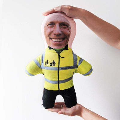 Personalised Mini Me Doll - Bins & Refuse Disposal Officer