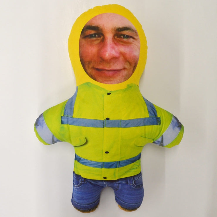 Personalised Mini Me Doll - Hi-Vis-Mini-Me-Give Personalised Gifts