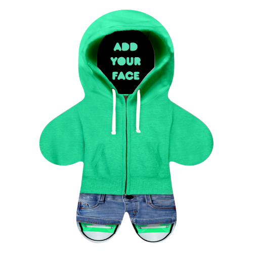 Personalised Mini Me Doll - Hoodie-Mini-Me-Give Personalised Gifts