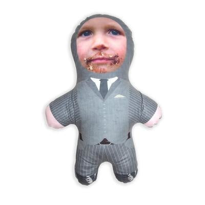 Personalised Mini Me Doll In A Suit-Mini-Me-Give Personalised Gifts