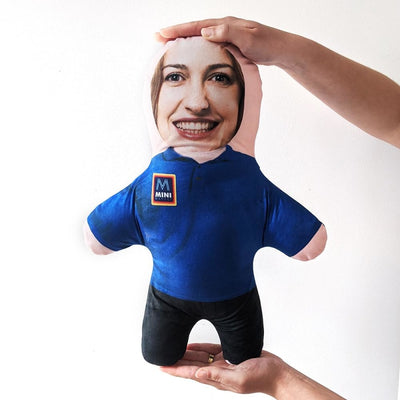 Personalised Mini Me Doll - Super Market Key Worker