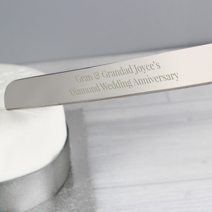 Personalised Modern Cake Knife-Kitchen Accessories-Give Personalised Gifts