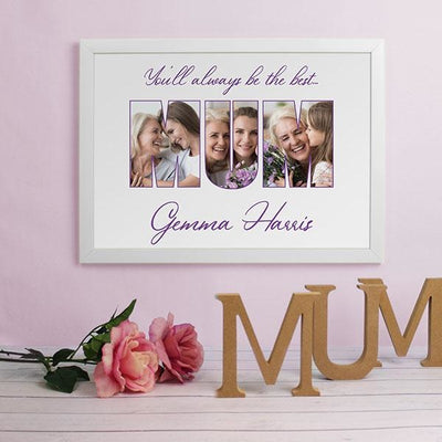 Personalised MUM A3 Framed Print With Photos-Framed Print-Give Personalised Gifts