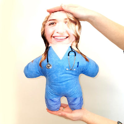 Personalised Nurse - Mini Me Doll-Mini-Me-Give Personalised Gifts