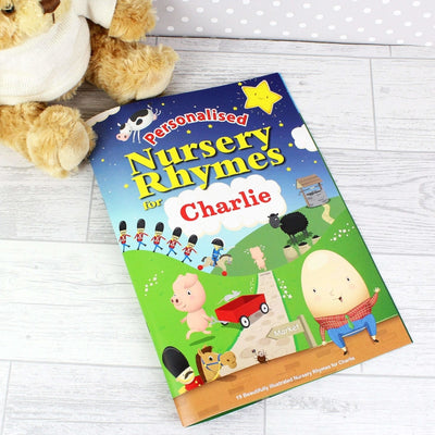 Personalised Nursery Rhyme Book-Books-Give Personalised Gifts