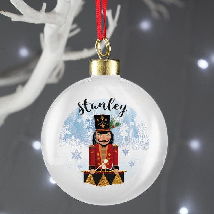 Personalised Nutcracker Bauble-Bauble-Give Personalised Gifts