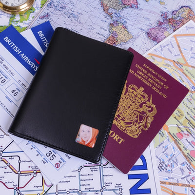 Personalised Passport Holder With Photo