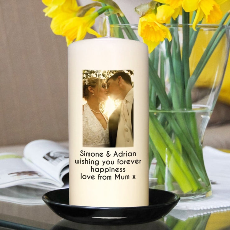 Personalised Photo Candle-Candles & Holder-Give Personalised Gifts