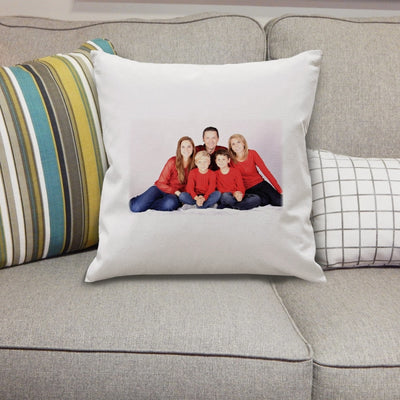 Personalised Photo Cushion Cover-Cushion Cover-Give Personalised Gifts