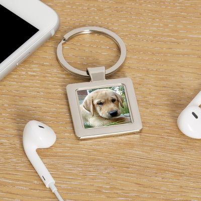 Personalised Photo Key Ring-Keyring-Give Personalised Gifts