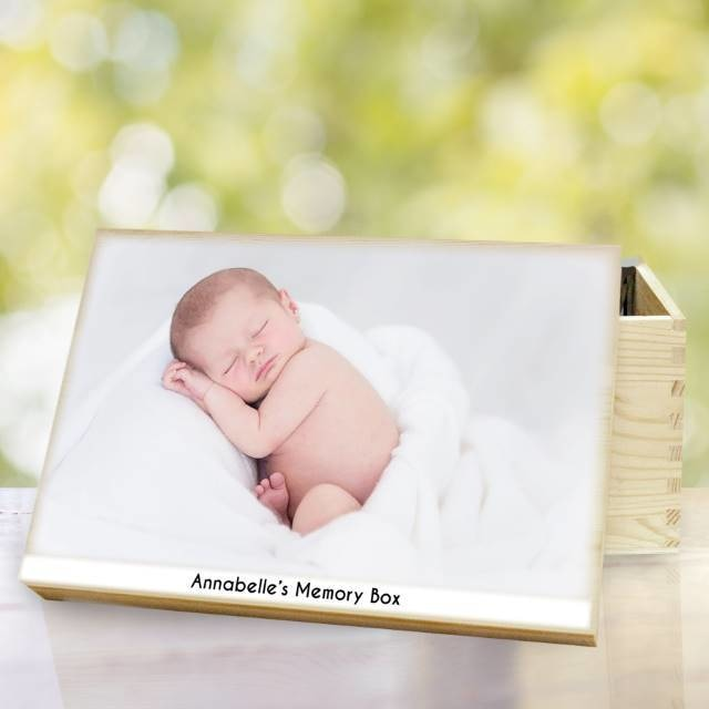 Personalised Photo Memory Box-Photo Frame-Give Personalised Gifts