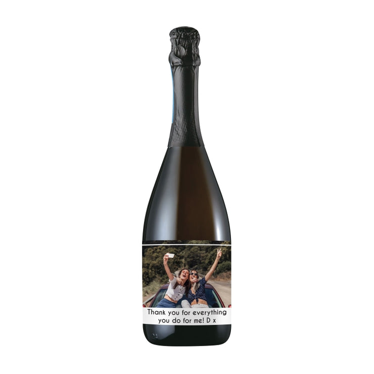 Personalised Photo Upload Bottle Of Prosecco-Prosecco-Give Personalised Gifts