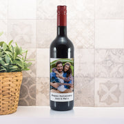 Personalised Photo Upload Bottle Of Red Wine-Beverage & Accessories-Give Personalised Gifts