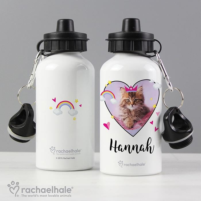 Personalised Rachael Hale Cute Cat Drinks Bottle-Drinks Bottle-Give Personalised Gifts