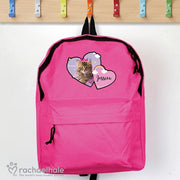 Personalised Rachael Hale Cute Cat Pink Backpack-Kids Backpack-Give Personalised Gifts