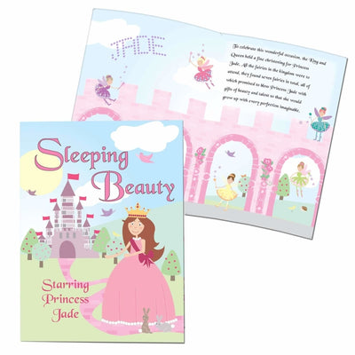 Personalised Sleeping Beauty Story Book-Story Book-Give Personalised Gifts
