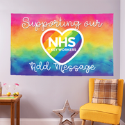 Personalised Supporting Our NHS - Window Banner