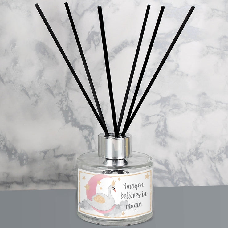 Personalised Swan Lake Reed Diffuser-Diffuser-Give Personalised Gifts