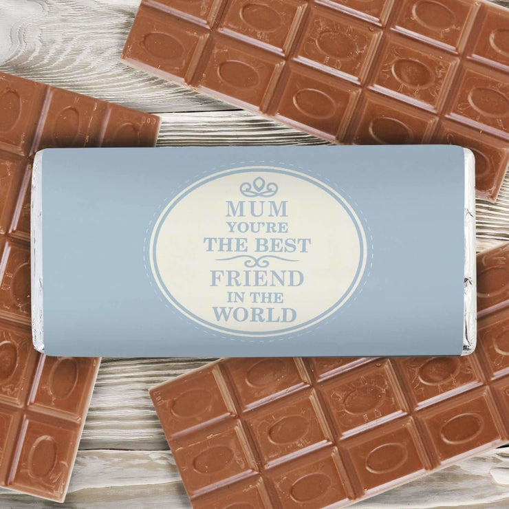 Personalised The Best in the World Milk Chocolate Bar-Chocolate Bar-Give Personalised Gifts