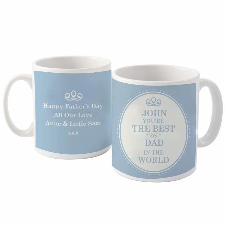 Personalised The Best in the World Mug-Mugs-Give Personalised Gifts