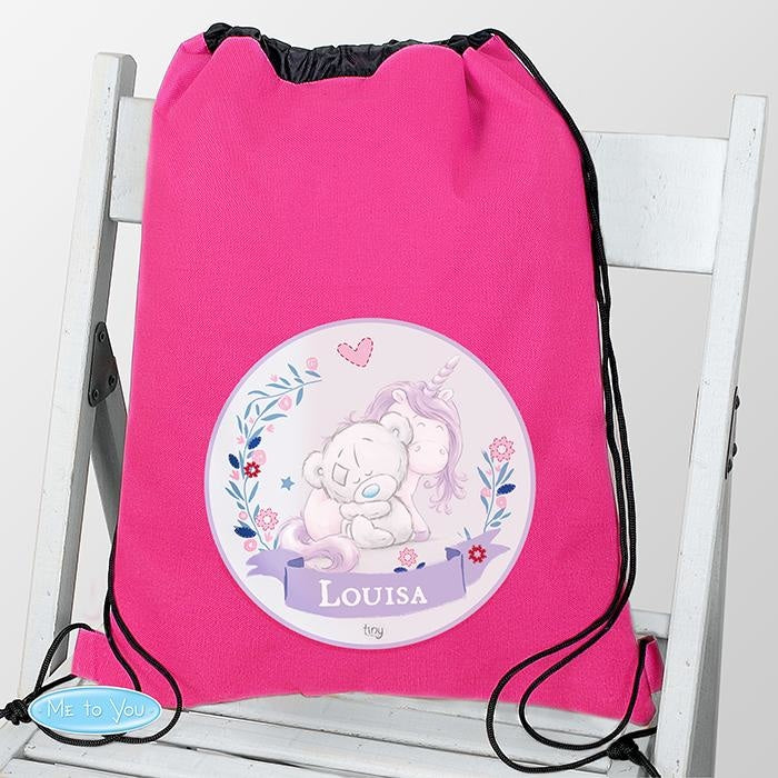 Personalised Tiny Tatty Teddy Unicorn Swim & School Bag-Swim and Kit Bags-Give Personalised Gifts