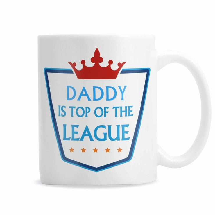 Personalised Top of the League Mug-Mugs-Give Personalised Gifts