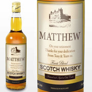 Personalised Traditional Castle Whisky-Whisky-Give Personalised Gifts