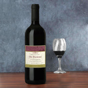 Personalised Traditional Red Wine-Wine-Give Personalised Gifts