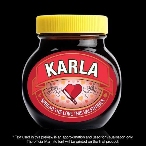 Personalised Marmite – Valentines-Food Sauce-Give Personalised Gifts