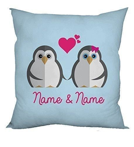 Personalised Valentines Name Cushion-Cushion Cover-Give Personalised Gifts