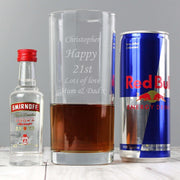 Personalised Vodka and Red Bull Gift Set-Vodka-Give Personalised Gifts