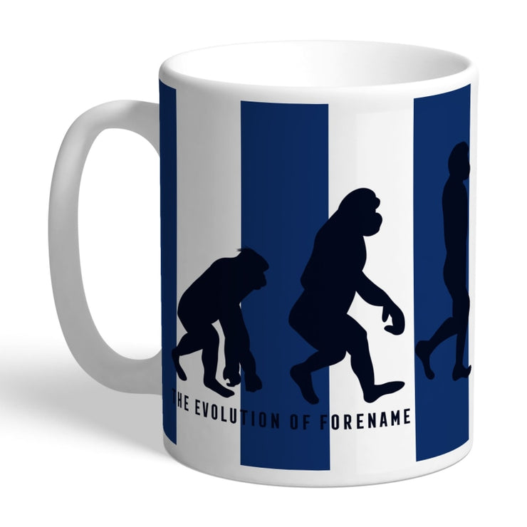Personalised West Bromwich Albion FC Evolution Mug