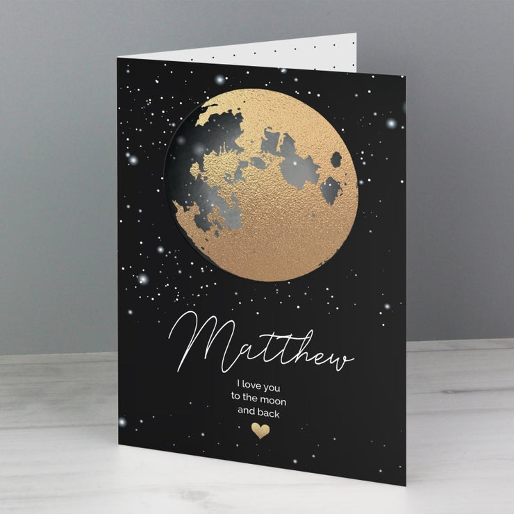 Personalised You Are My Sun My Moon Card-Personalised Cards-Give Personalised Gifts