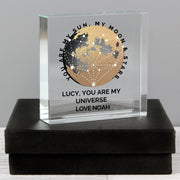 Personalised You Are My Sun My Moon Large Crystal Token-Crystal Token-Give Personalised Gifts