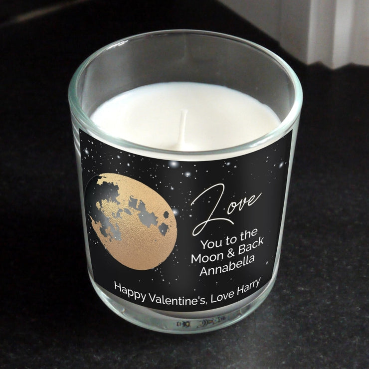 Personalised You Are My Sun My Moon Scented Jar Candle-Candles & Holder-Give Personalised Gifts