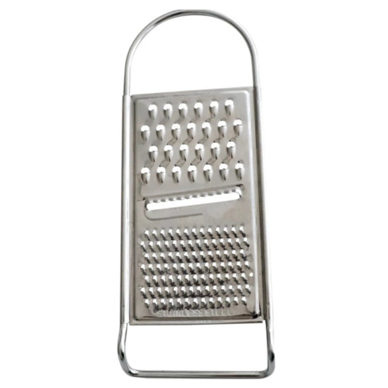 Stainless Steel Flat Grater Food Cheese Kitchen Tool