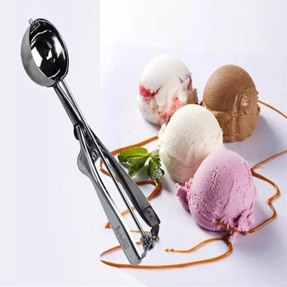 Ice Cream Scoop Stainless Steel Kitchen Gadgets - Bamagate