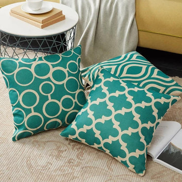 Modern Style Green Cushion Cover - bamagate-com