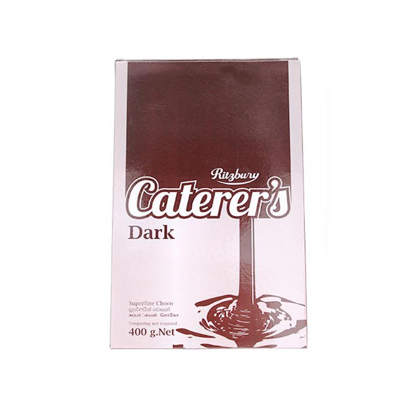 Dark Unsweetened Cooking Chocolate Bar 400 g - Bamagate