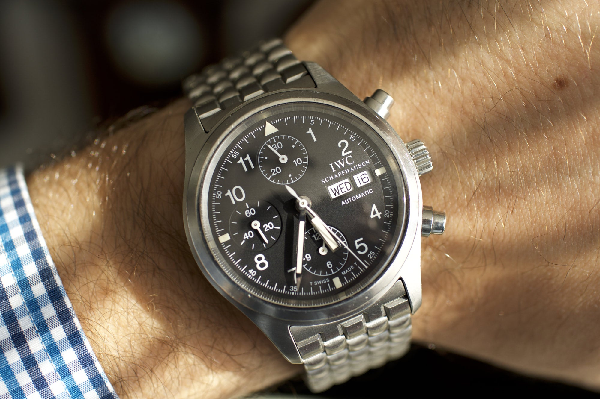 "Watch Rant: Why I think the IWC 3706 ""Brick"" Bracelet is one of the best bracelets"