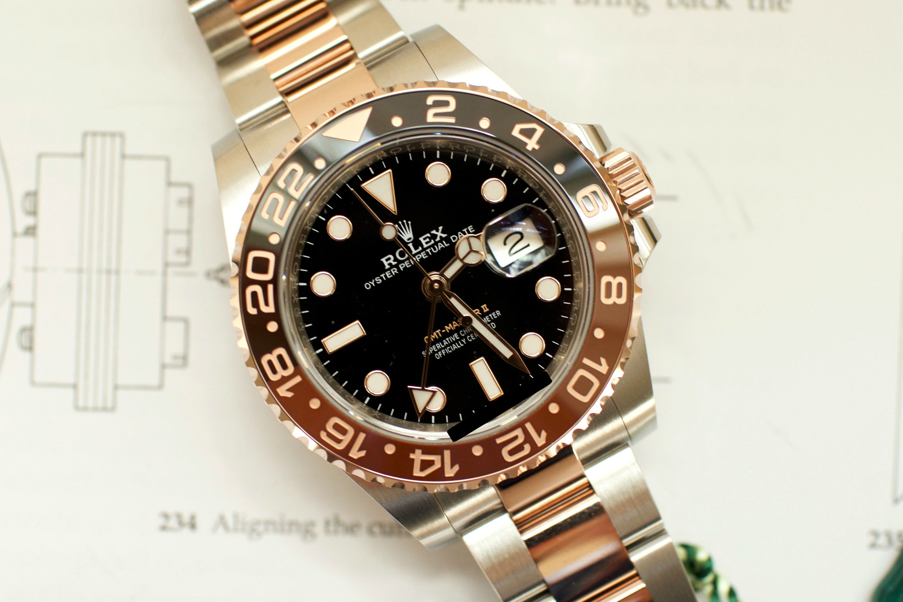 Rolex GMT II Root Beer