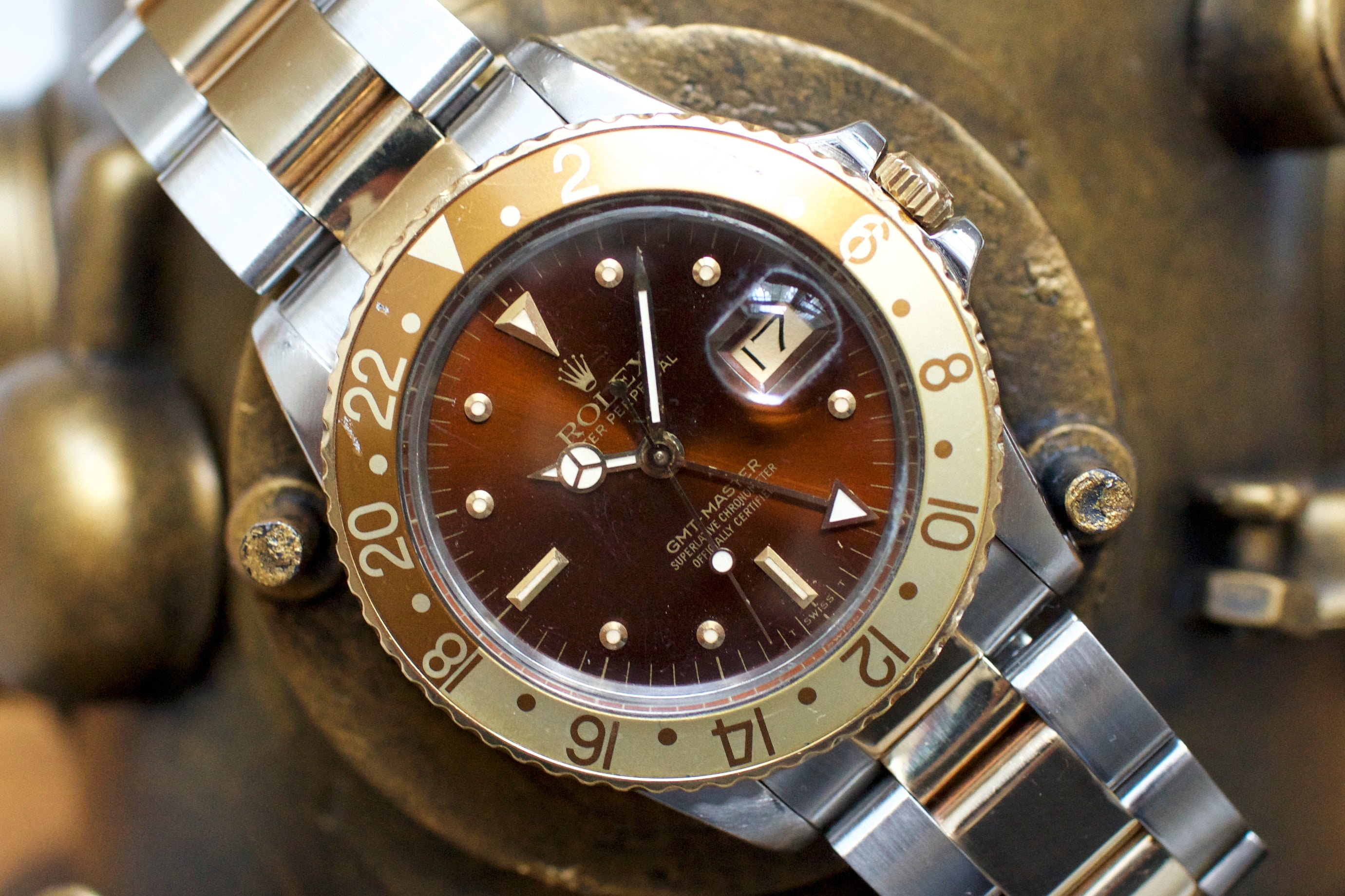 Rolex GMT 1675 Root Beer Vintage