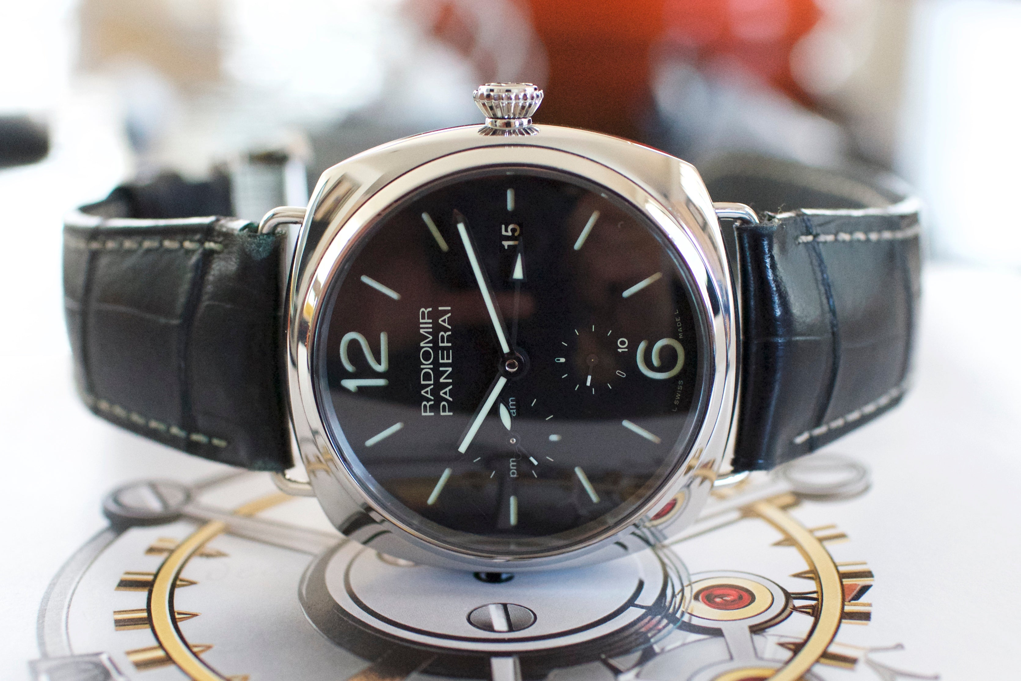 Panerai Radiomir 10 Days GMT PAM 323 00323