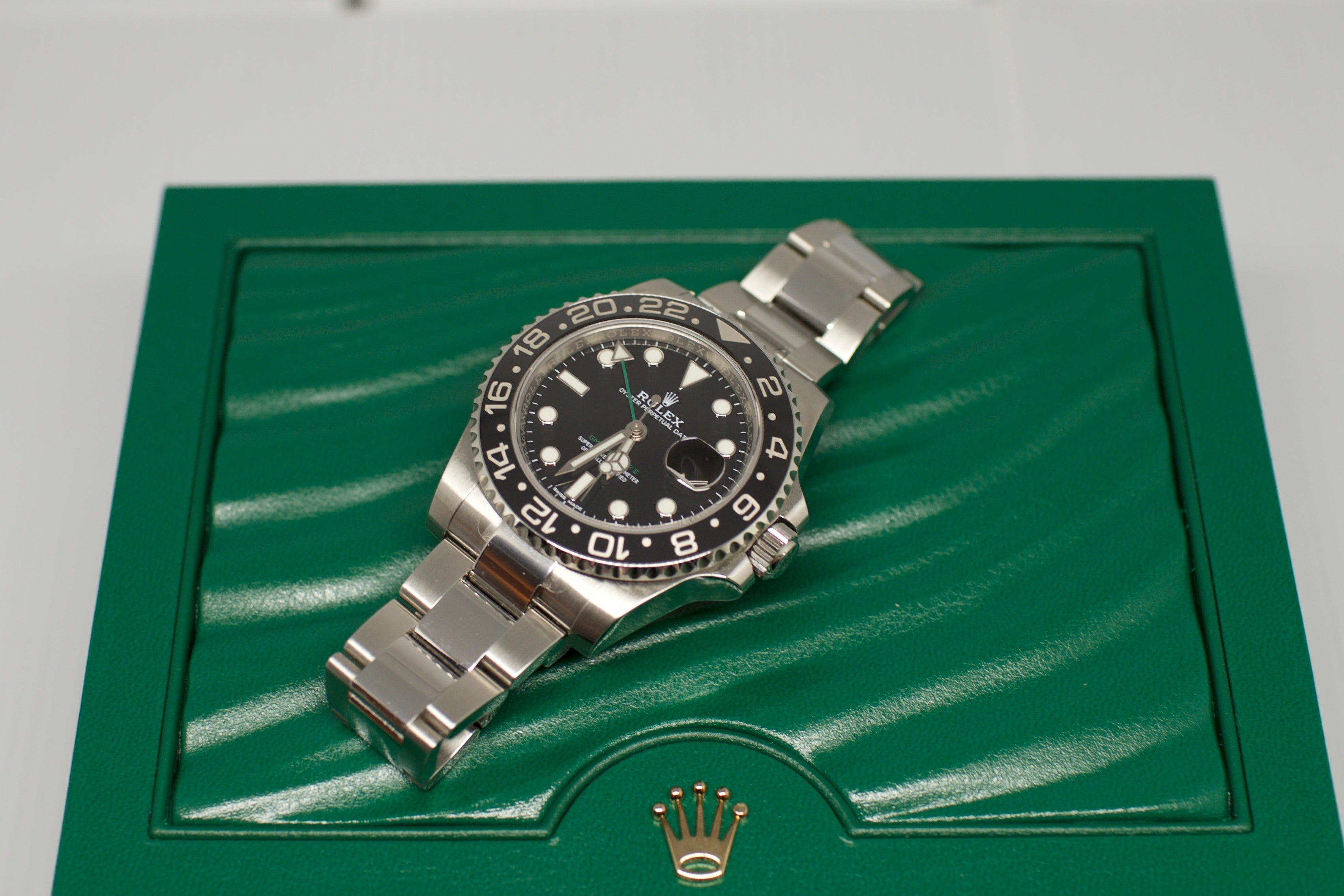 Rolex GMT ii Batman 116710BLNR