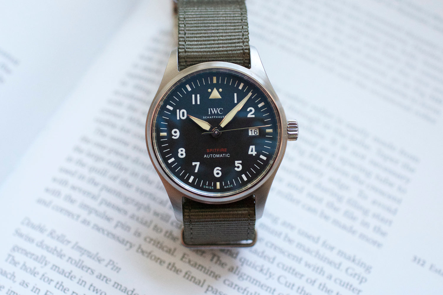 IWC Pilot Spitfire Automatic 39mm IW326801