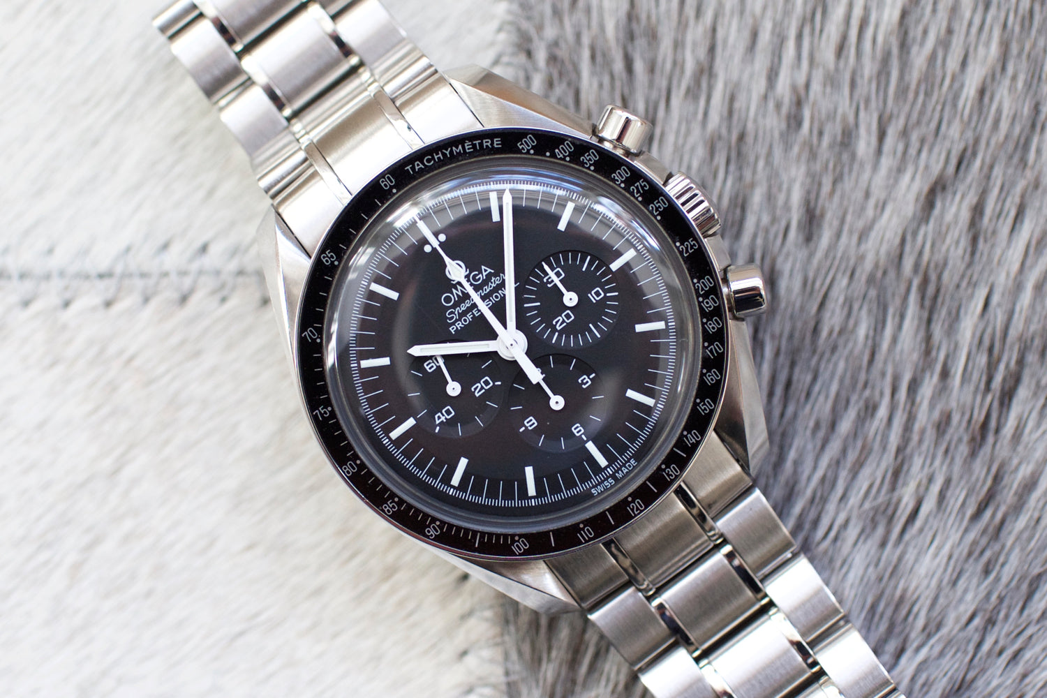 Omega Speedmaster Moon Watch 3570.50.00 Chronograph Steel Mens