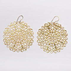 Filigree Snowflake Earrings