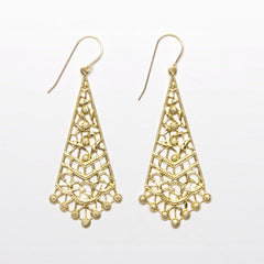 Filigree Trellis Earrings